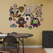 Fathead Guardians of the Galaxy Kawaii Collection