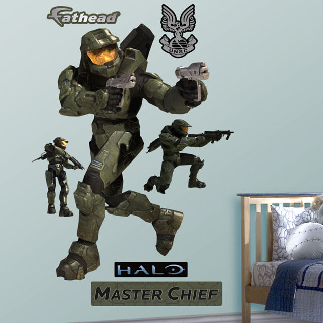 fathead halo master chief wall graphic