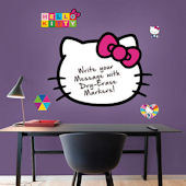 Fathead Hello Kitty Wall Dry Erase Decal