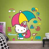 Fathead Hello Kitty Umbrella Wall Decal