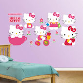 Fathead Hello Kitty Collection Wall Decal