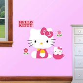 Fathead Hello Kitty Jr Wall Decal