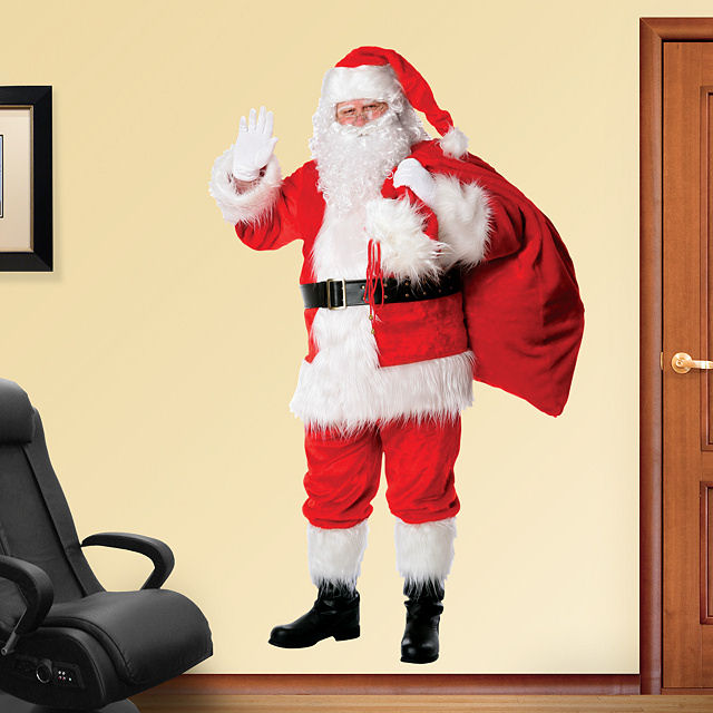 Fathead Santa Clause - Wall Sticker Outlet