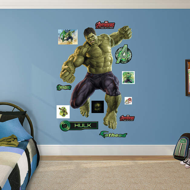Fathead Avengers Age of Ultron Hulk - Wall Sticker Outlet