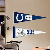 Fathead Jr Indianapolis Colts Pennants