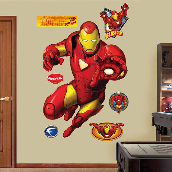 Fathead Iron Man Wall Sticker - Wall Sticker Outlet
