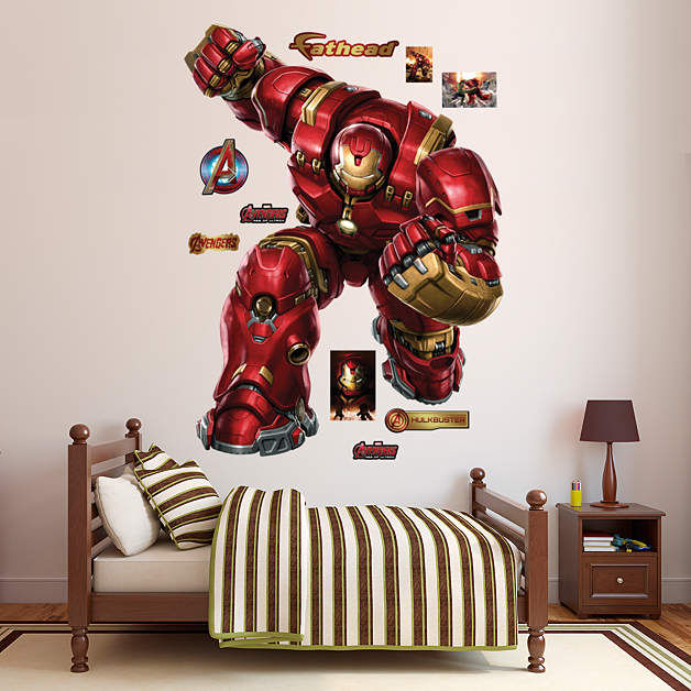 Fathead Avengers Age of Ultron Iron Man Hulkbuster - Wall Sticker Outlet