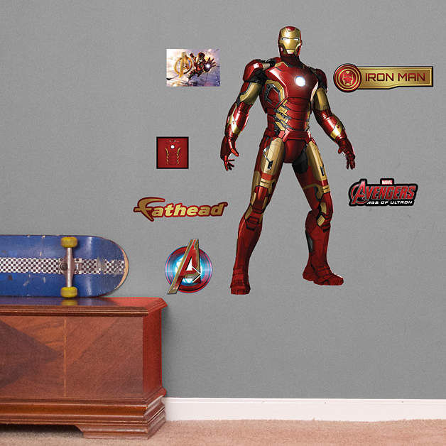 Fathead Avengers Age of Ultron Iron Man Jr - Wall Sticker Outlet
