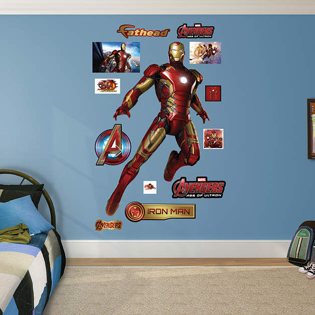 Fathead Avengers Age of Ultron Iron Man - Wall Sticker Outlet