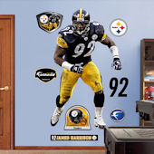Fathead James Harrison Pittsburgh Steelers