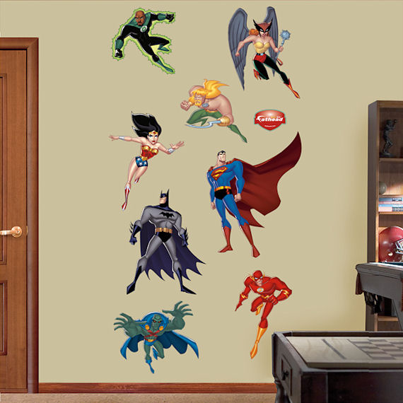 Justice League Fathead Wall Sticker - Wall Sticker Outlet