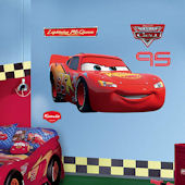 Fathead Disney Cars Lighting McQueen Wall Graphic