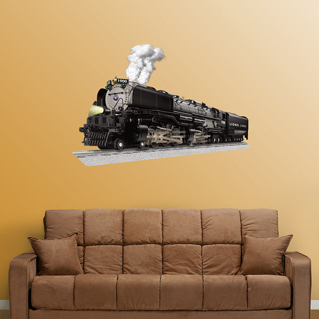 Fathead Lionel Vision Challenger Train - Wall Sticker Outlet