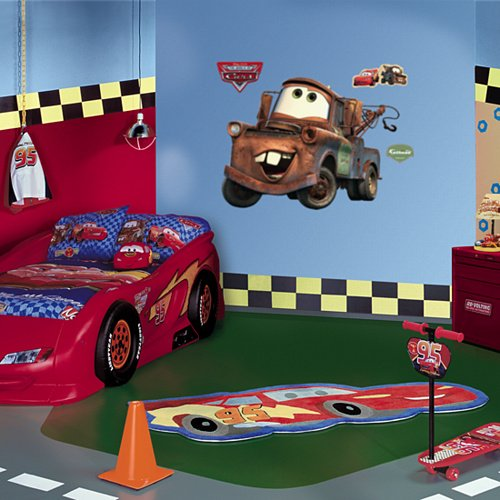 Fathead Cars Mater Wall Graphic - Kids Wall Decor Store