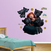 Fathead Brave Merida and Cubs Wall Graphic