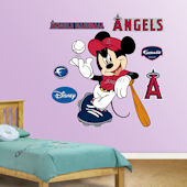 Fathead Disney Mickey Mouse Angel Baseball Decal