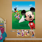 Fathead Disney Mickey Mouse Clubhouse Mural