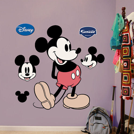 Fathead Disney Mickey Mouse Wall Sticker - Wall Sticker Outlet