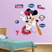 Fathead Disney Mickey Mouse Phillie Baseball Decal