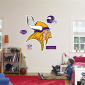 Fathead Minnesota Vikings Logo Real Big Mural