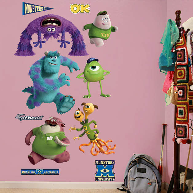 Fathead Disney Monsters University Collection  - Wall Sticker Outlet
