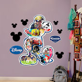 Fathead Disney Mickey Mouse Movie Montage Sticker