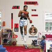 Fathead Muhammad Ali Peel Stick Wall Graphic