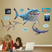 Fathead Disney Finding Nemo Sharks Wall Sticker