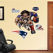 Fathead New England Patriots Extreme Logo Real Big