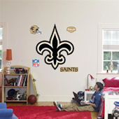 Fathead New Orleans Saints Logo Real Big Mural