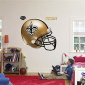 Fathead New Orleans Saints Helmet Real Big Mural