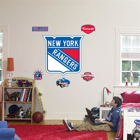 Fathead New York Rangers Logo Wall Graphics