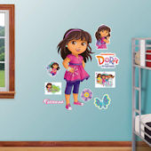 Fathead Dora and Friends Peel and Stick Decals