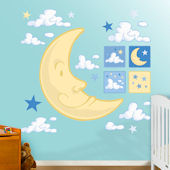 Fathead Nighttime Collection Wall Graphic