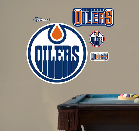 fathead edmonton oilers logo wall graphics vinyls electricity series by ziemowit maj this gives another