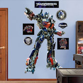 Fathead Transformers Optimus Dark of Moon Decal