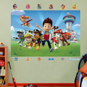 Fathead Paw Patrol Wall Mural Decal