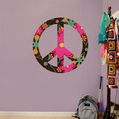 Fathead Peace Sign Peel and Stick Wall Graphics