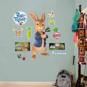 Fathead Peter Rabbit Peel and Stick Decal