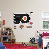 Fathead Philadelphia Flyers Logo Wall Graphics