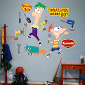 Phineas and Ferb Wall Sticker