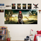 Fathead Disney Pirates of the Caribbean Wall Mural