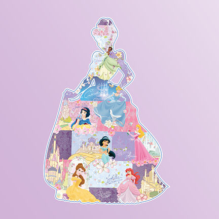 Fathead Disney Princess Movie Montage Wall Sticker - Wall Sticker Outlet