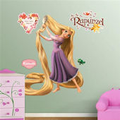 Fathead Rapunzel Tangled Wall Sticker