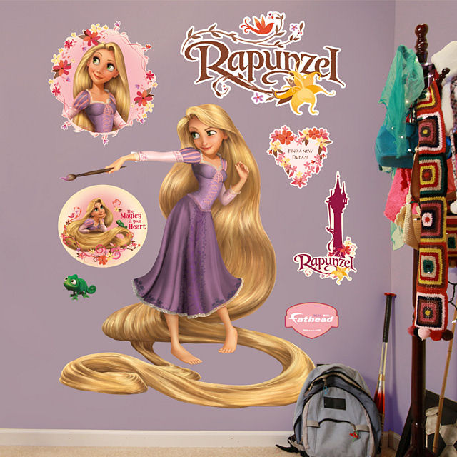 tangled rapunzel wall stickers wesharepics online get cheap tangled wall stickers aliexpress com