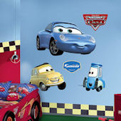 Fathead Disney Cars Sally Luigi Guido Wall Decals