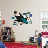 Fathead San Jose Sharks Logo Wall Graphics