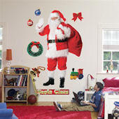 Fathead Santa Claus Wall Graphic