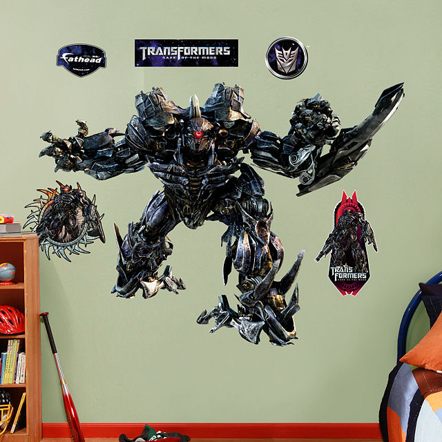 Fathead Transformers Shockwave Dark of Moon Decal - Wall Sticker Outlet