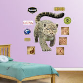 Fathead Snow Leopard Wall Graphic